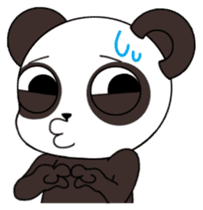 I am Panda sticker #1574922
