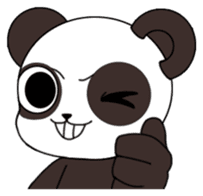 I am Panda sticker #1574923