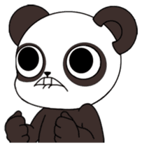 I am Panda sticker #1574926