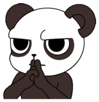 I am Panda sticker #1574930