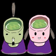 """Green tea SAMURAI """"GUTTY"""""""