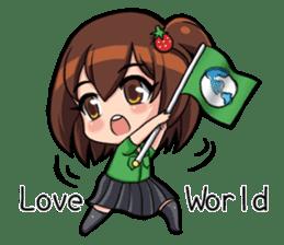 I am LuLu (World) sticker #1576507