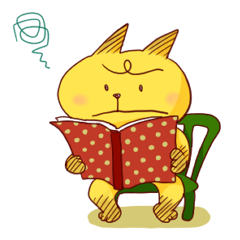 Studying Cat