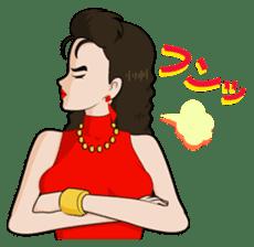"Trendy Lady ""MIHO"" sticker #1580022"