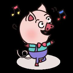 KAWAII SLOW LIFE PIG