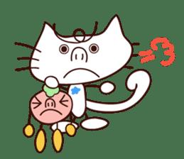 Hattie & fellow Chris of the cat. sticker #1583248