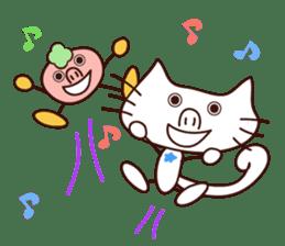 Hattie & fellow Chris of the cat. sticker #1583249