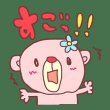 PINK-KUMA3 sticker #1583871