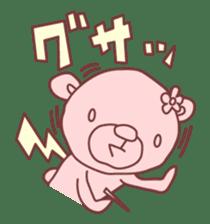 PINK-KUMA3 sticker #1583893