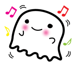 This is a pretty ghost called YOCCHI sticker #1583944
