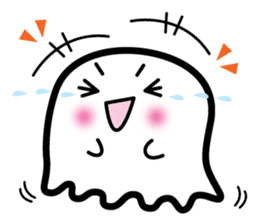 This is a pretty ghost called YOCCHI sticker #1583945