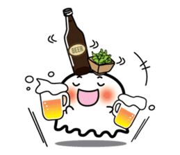This is a pretty ghost called YOCCHI sticker #1583952
