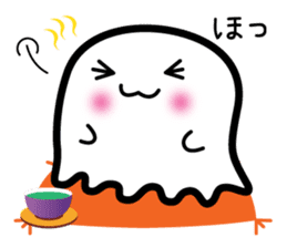 This is a pretty ghost called YOCCHI sticker #1583957