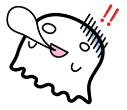 This is a pretty ghost called YOCCHI sticker #1583960