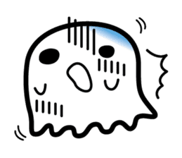 This is a pretty ghost called YOCCHI sticker #1583966