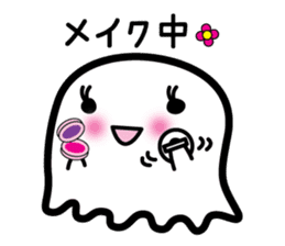 This is a pretty ghost called YOCCHI sticker #1583971