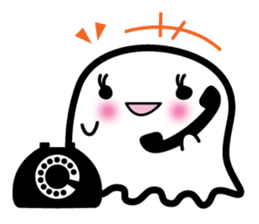 This is a pretty ghost called YOCCHI sticker #1583972