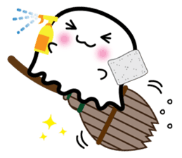 This is a pretty ghost called YOCCHI sticker #1583973