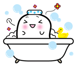 This is a pretty ghost called YOCCHI sticker #1583974