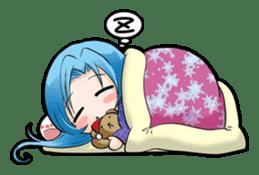 Shinmimi Friends sticker #1586543