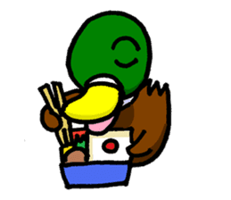 Wild duck sticker #1587330