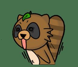 Tanukiti ~English~ sticker #1590302