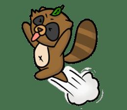 Tanukiti ~English~ sticker #1590308