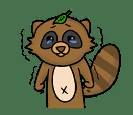 Tanukiti ~English~ sticker #1590313