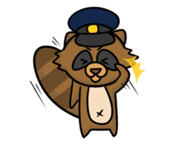Tanukiti ~English~ sticker #1590316