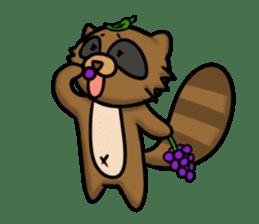 Tanukiti ~English~ sticker #1590329