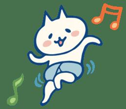 diaper cat sticker #1590339