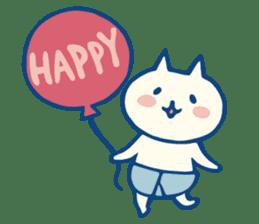 diaper cat sticker #1590340