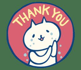 diaper cat sticker #1590345