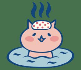 diaper cat sticker #1590351