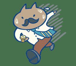 diaper cat sticker #1590365