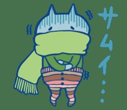 diaper cat sticker #1590372