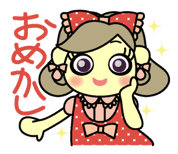 colorful tsukema-girl sticker #1590476