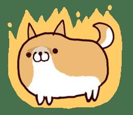 lazy shiba sticker #1595469