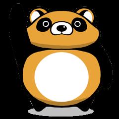 round Tanuki