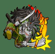 SENGOKU PUZZLE!! ANIMAL DAIGASSEN sticker #1598596