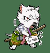 SENGOKU PUZZLE!! ANIMAL DAIGASSEN sticker #1598599