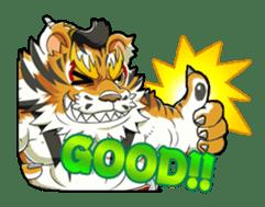 SENGOKU PUZZLE!! ANIMAL DAIGASSEN sticker #1598604