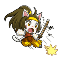 SENGOKU PUZZLE!! ANIMAL DAIGASSEN sticker #1598609