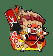 SENGOKU PUZZLE!! ANIMAL DAIGASSEN sticker #1598610