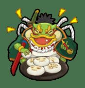 SENGOKU PUZZLE!! ANIMAL DAIGASSEN sticker #1598612