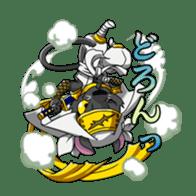 SENGOKU PUZZLE!! ANIMAL DAIGASSEN sticker #1598618