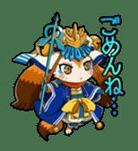 SENGOKU PUZZLE!! ANIMAL DAIGASSEN sticker #1598620