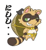 SENGOKU PUZZLE!! ANIMAL DAIGASSEN sticker #1598622