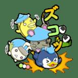 SENGOKU PUZZLE!! ANIMAL DAIGASSEN sticker #1598626