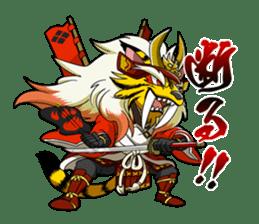 SENGOKU PUZZLE!! ANIMAL DAIGASSEN sticker #1598630